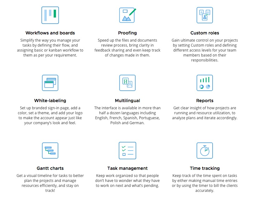 ProofHub Review Features