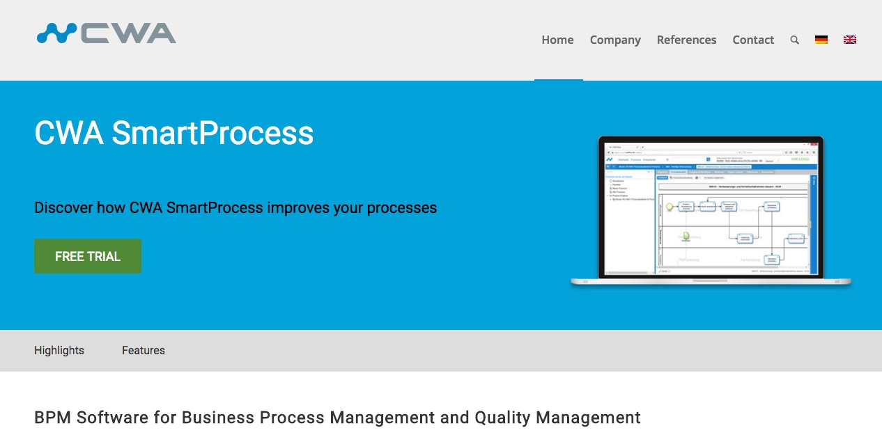 CWA SmartProcess Alternative SCMWise